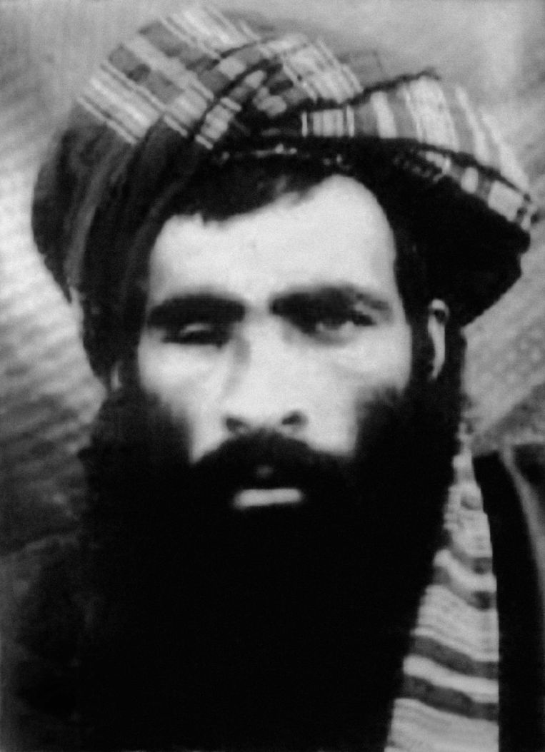 Mullah Omar, de mysterieuze leider van de taliban.  Beeld RV