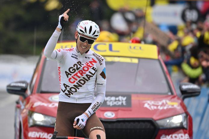 O'Connor won na een rit in de Giro ook een etappe in de Tour.