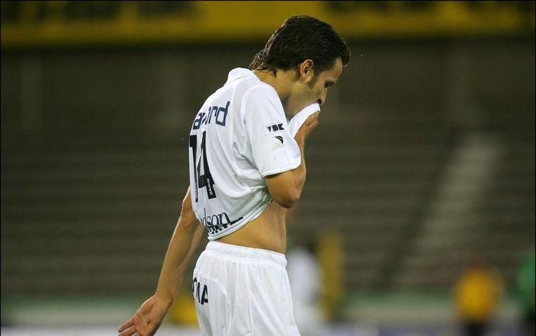 Christophe Grégoire had bij Willem II nog een contract tot 2010. Beeld UNKNOWN