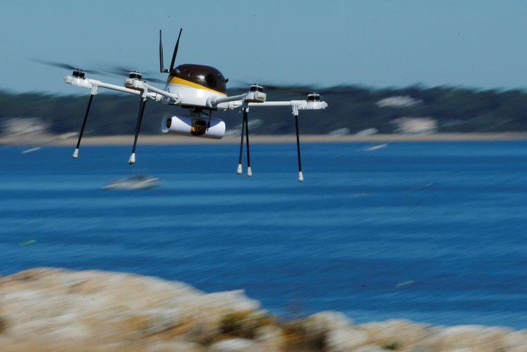Een onbemand vliegtuigje of drone. Beeld REUTERS