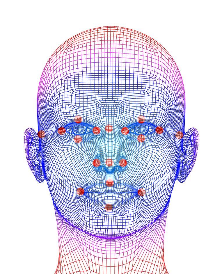 In een vestiging van Jumbo in Alphen aan den Rijn werd gewerkt met gezichtsherkenning.  Beeld Getty Images/Science Photo Libra