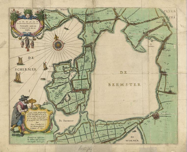 Drooglegging van de Beemster (1607-1612) Beeld -