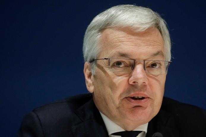 Didier Reynders, ministre des Affaires étrangères.