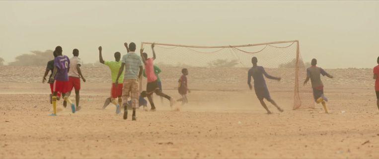 Still uit Timbuktu (Abderrahmane Sissako, 2014). Beeld Abderrahmane Sissako