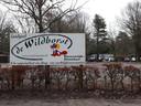 Entree van De Wildhorst.
