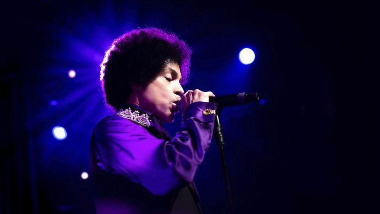 Popicoon Prince overleed donderdag op 57-jarige leeftijd. Beeld epa