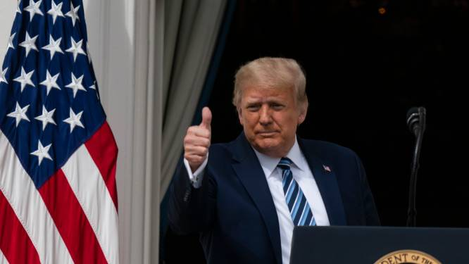 """Lijfarts: """"Trump is niet langer besmettelijk"""""""