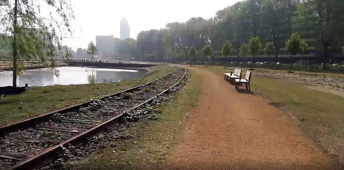 Het Spoorpark is bijna klaar voor de opening.