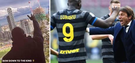 "L'Inter sacré champion d'Italie, Lukaku célèbre le titre: ""Campione, campione"""