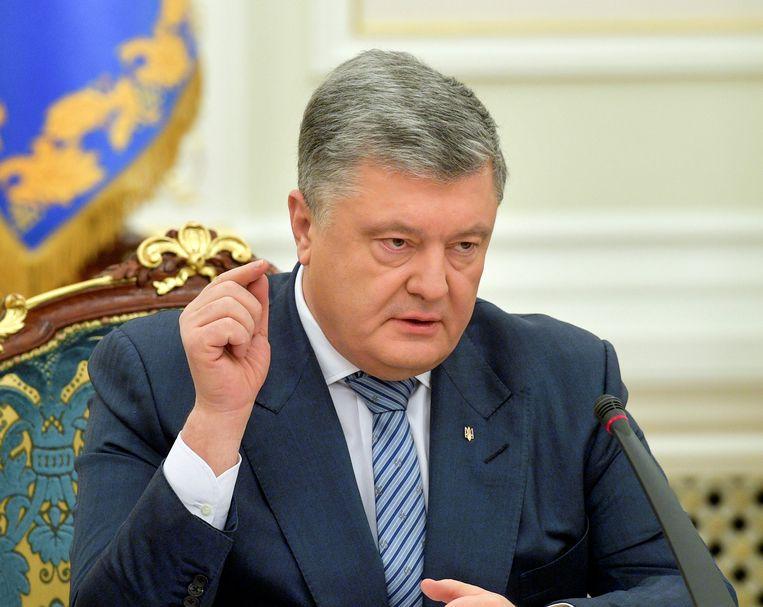 Oekraïens president Petro Porosjenko