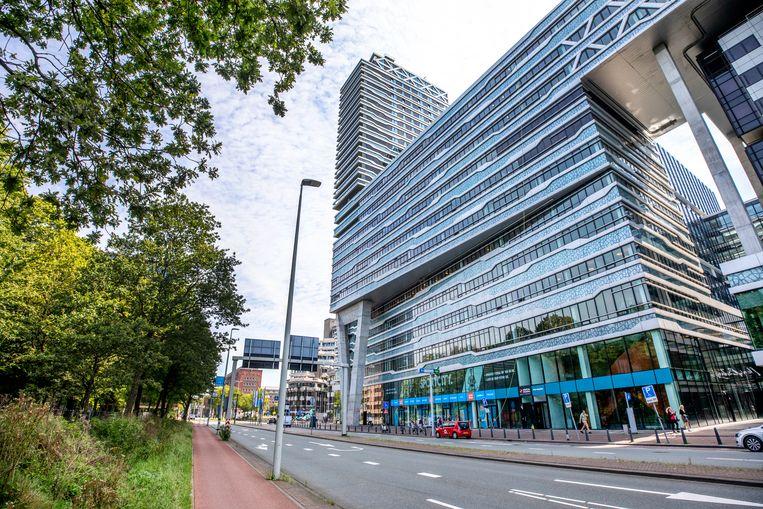 Het kantoor van Pels Rijcken in Den Haag. Beeld Raymond Rutting / de Volkskrant