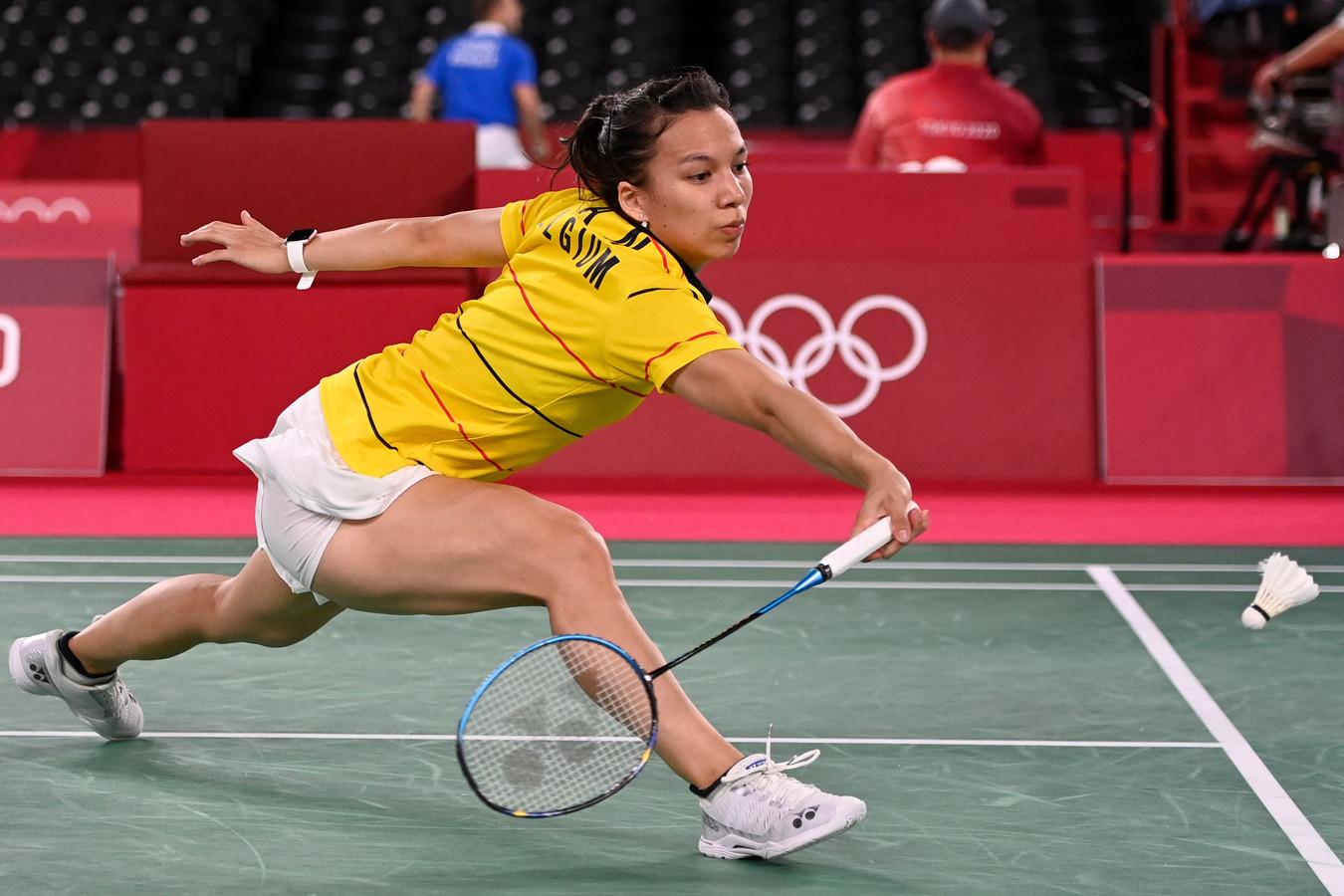 Début de tournoi convaincant pour Lianne Tan en badminton.