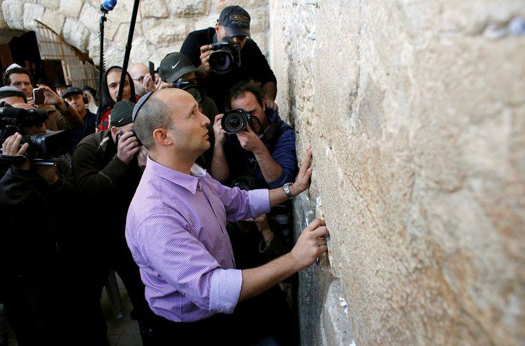 Het lukt Bennett om zowel het rechtse religieuze als seculiere kamp te bereiken.  Beeld Reuters