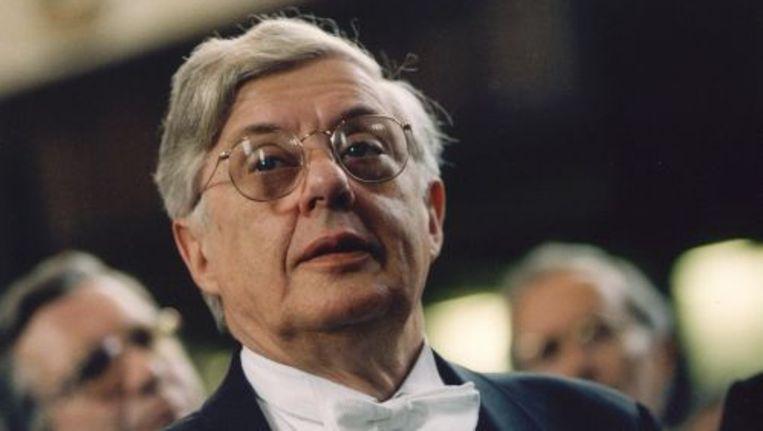 De Nederlandse schrijver Rudy Kousbroek (archieffoto, juni 1994). Foto ANP Beeld