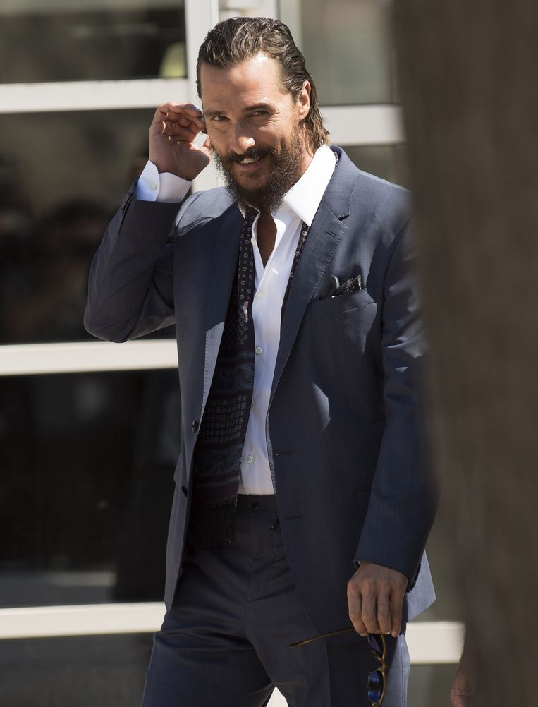 Matthew McConaughey. Beeld AFP