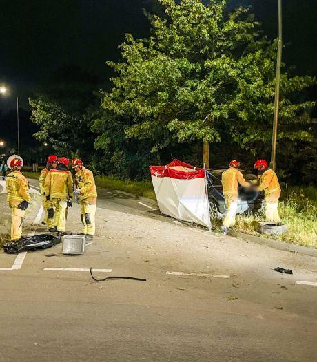 Belg (32) overleden bij botsing tegen boom in Budel
