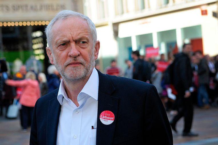 De leider van de Labour Party Jeremy Corbyn. Beeld AFP