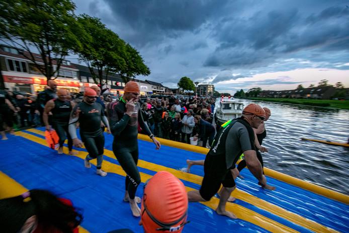 De start van de Pieperswim.