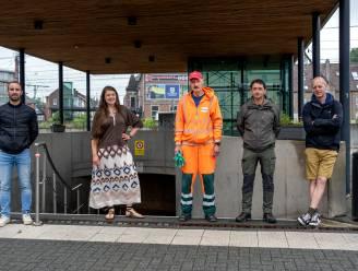 Cijferrapport bevestigt positieve impact zwerfvuilactie in stationstunnel Landen