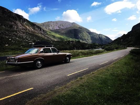 Met man en 2 kids (1 en 3) door Ierland getrokken in onze oude Jaguar XJ6 uit 1978. Zo genoten!