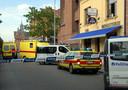De moord gebeurde in café Ministerie.