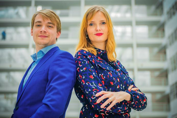 Spuigasten Ivar Lingen en Julia Broos