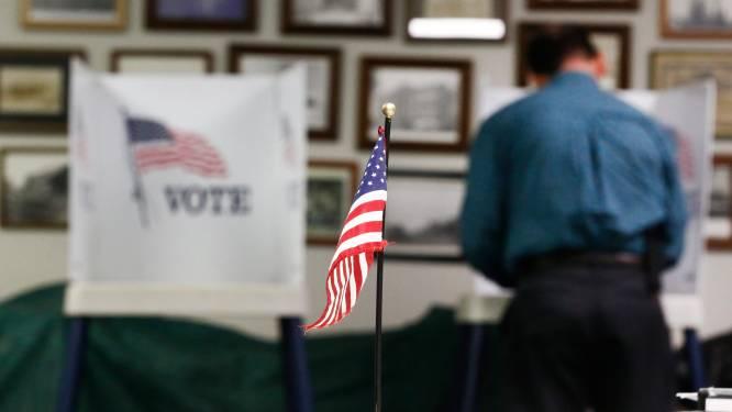 Zo stemde Amerika: cijfers wijzen op verdeeld land