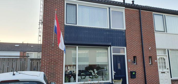De vlag uit in Winterswijk