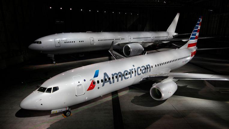 Archiefbeeld Boeing 777-800 American Airlines Beeld Reuters