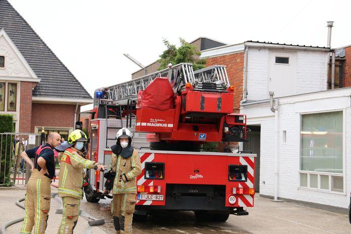 De brand zorgde voor aanzienlijke schade in de technische ruimte.