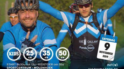 Mountainbike Toertocht Wacky Racers op 9 november