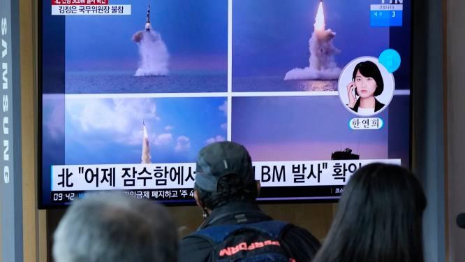 Noord-Korea lanceert ballistische raket vanuit onderzeeboot, VN Veiligheidsraad belegt spoedzitting