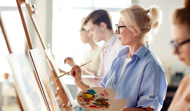 Creatieve mensen leven langer: alles over de kracht van creativiteit