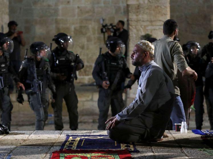 Tientallen gewonden bij ongeregeldheden in Jeruzalem