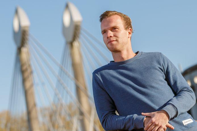 Steyn van Ark, opgeleid bij PEC Zwolle, speelt na de zomer in de hoofdklasse voor SDC Putten.