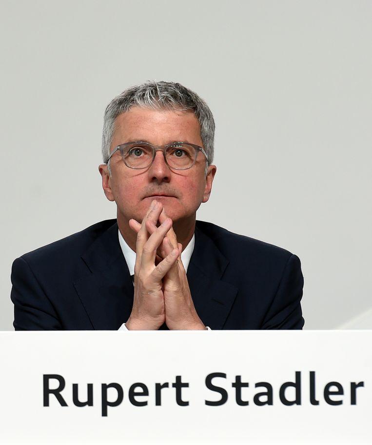 Topman van Audi Rupert Stadler. Beeld AFP