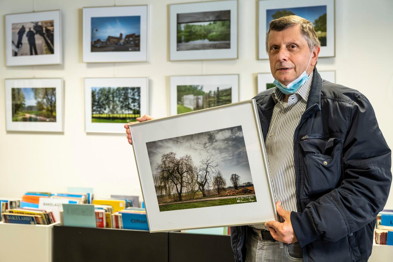 François Saeys  wist tijdens zijn vele wandelingen mooie plaatjes te maken van Lebbeke.