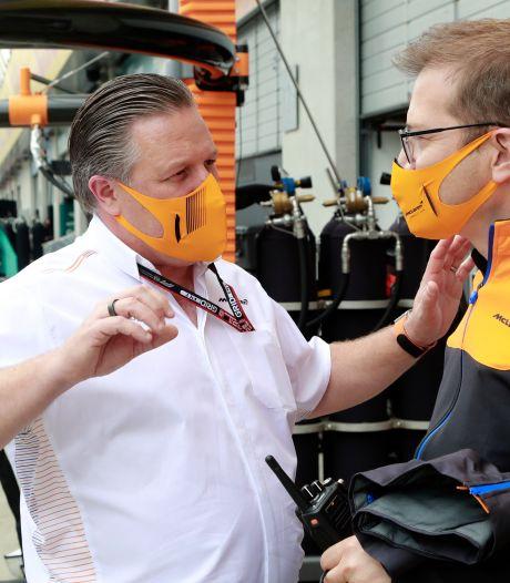 GP de Grande-Bretagne F1: trois cas de Covid chez McLaren, dont le PDG