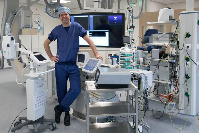 Intensivist-cardioloog Luuk Otterspoor.