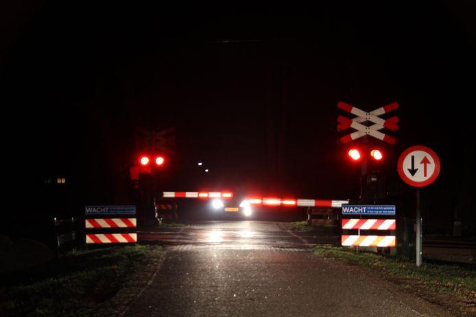 Tussen Rijssen en Wierden rijden er geen treinen door een sein-en overwegstoring.