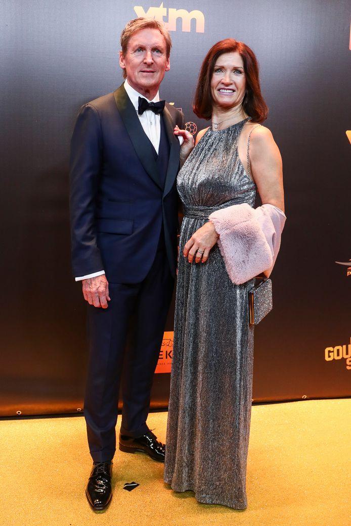 Francky Dury et sa femme