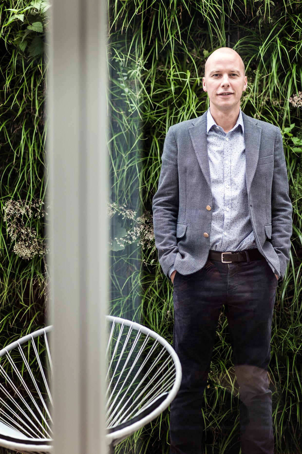 Peter Claes, de directeur media en productie van de VRT.