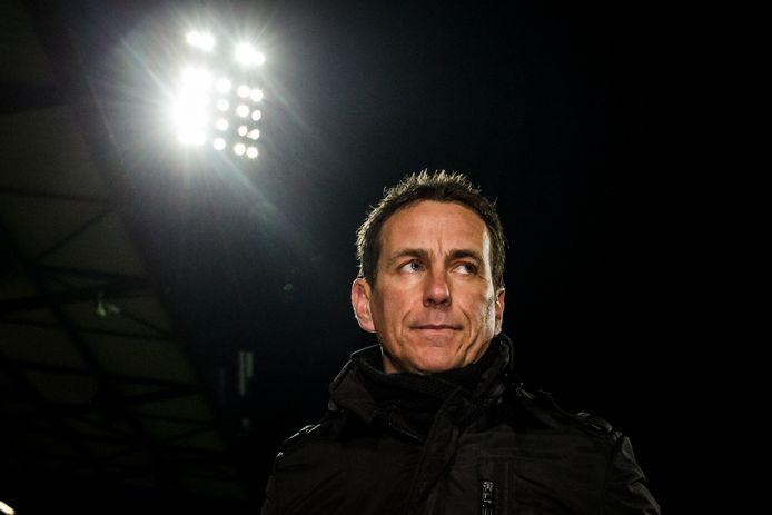 GA Eagles trainer/coach Leon Vlemmings baalt