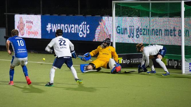 HC Tilburg-keeper Van Berkel: 'Na vier minuten mag het natuurlijk nooit 0-3 staan'