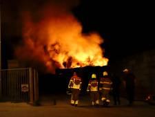 Honderd kuub afvalhout verloren door brand bij AVG Heijen