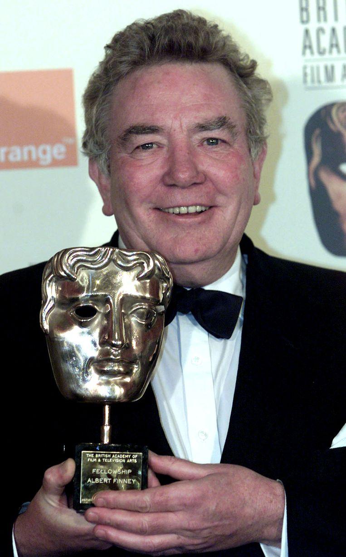 Finney op de British Academy Film Awards in London, 25 februari 2001.