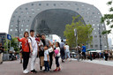 Chinese toeristen in het centrum van Rotterdam