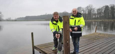 IJsvloer in Renkum groeit gestaag; zaterdag gaat de baan misschien open