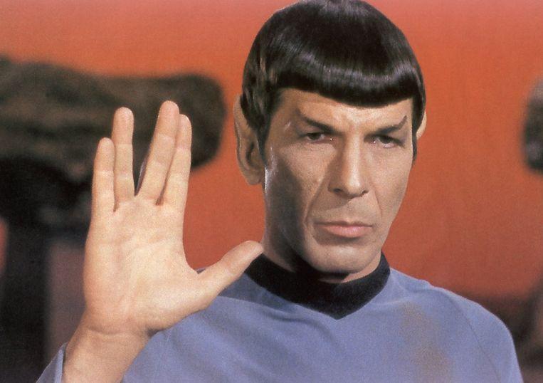 Leonard Nimoy als Spock. Beeld rv