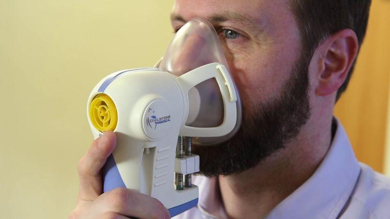 Dit toestel moet het eenvoudiger en goedkoper maken om kanker op te sporen. Beeld Owlstone Medical